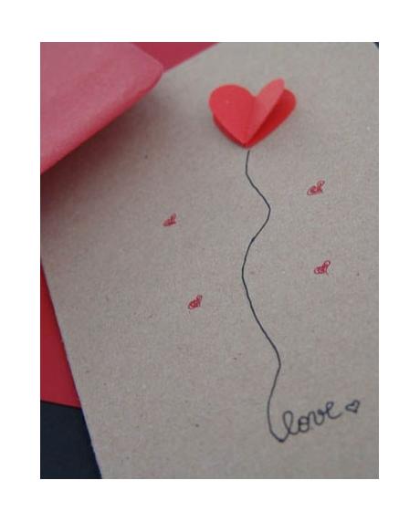 Felicitare Valentine / Dragobete LOVE 3
