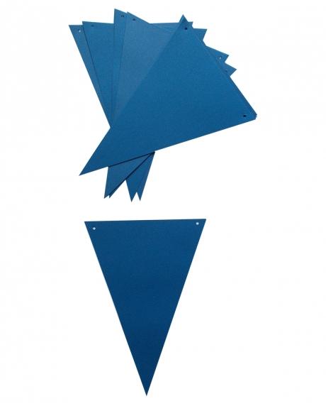 Ghirlanda stegulete albastru intens 1