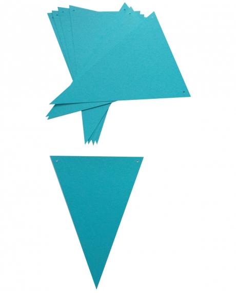 Ghirlanda stegulete bleu 1