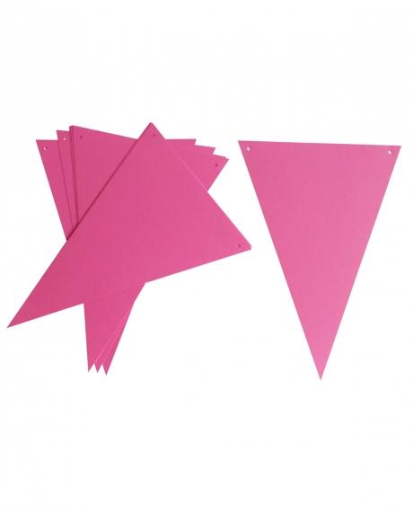 Ghirlanda stegulete roz ciclam 0