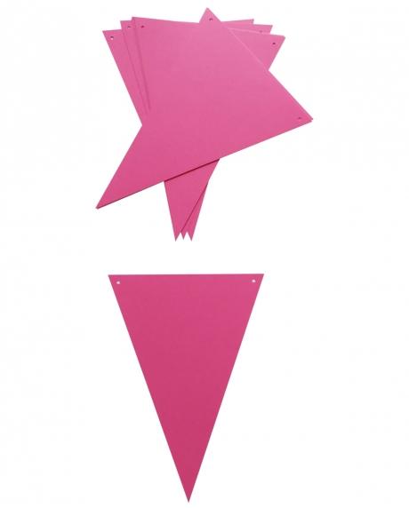 Ghirlanda stegulete roz ciclam 1