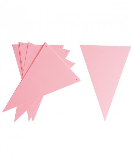 Ghirlanda stegulete roz pastel 0
