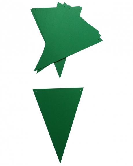 Ghirlanda stegulete verde Christmas 1