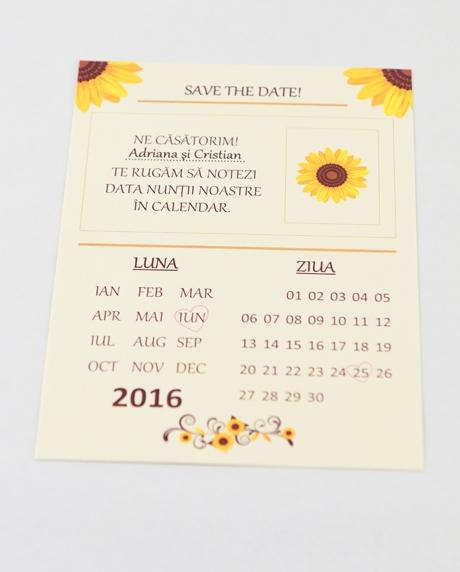 Invitatie nunta tip postcard 10