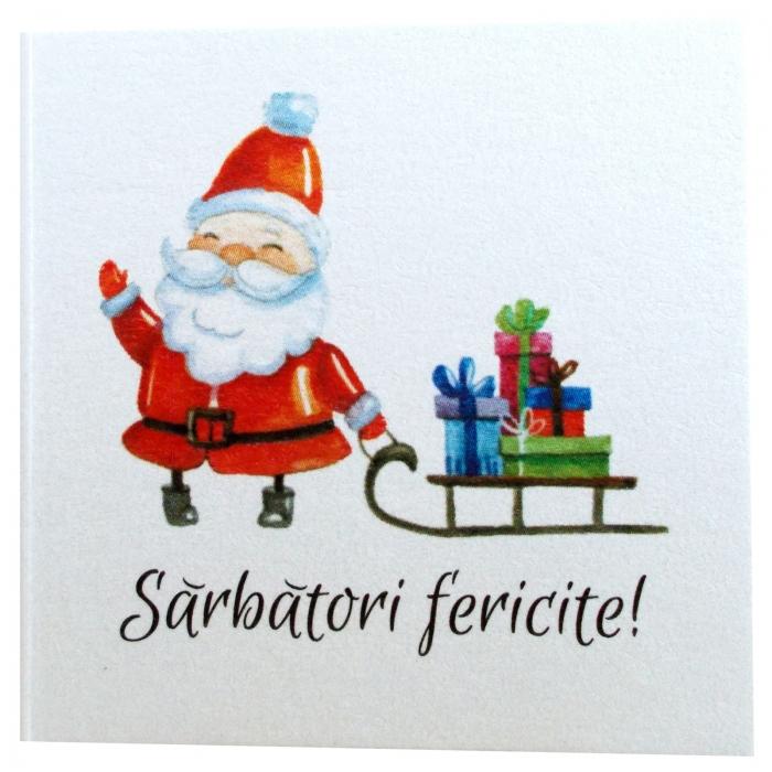 Minifelicitari Craciun Santa 2