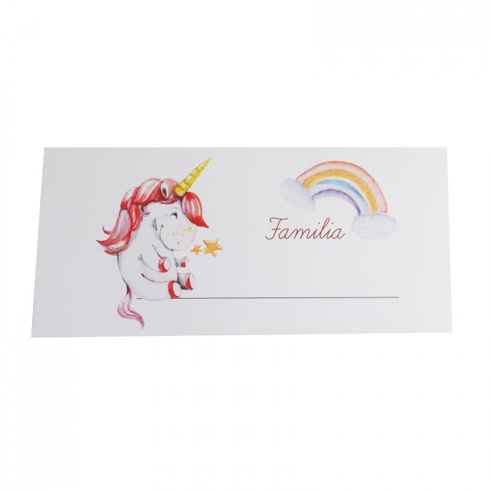 Place card plic de bani botez unicorn [1]