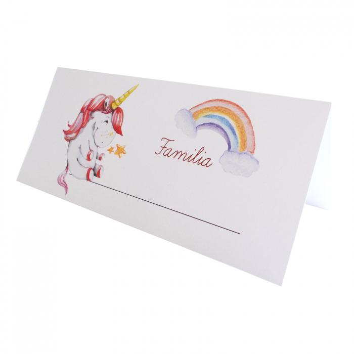 Place card plic de bani botez unicorn [0]