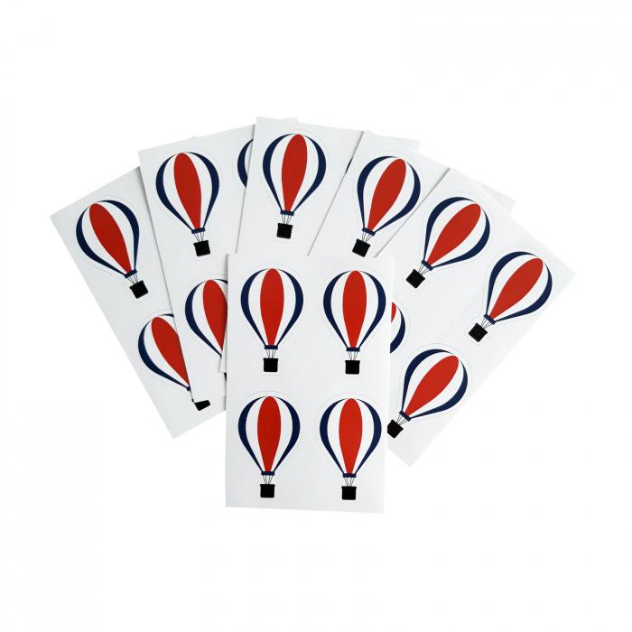Stickere balon 3 culori 1