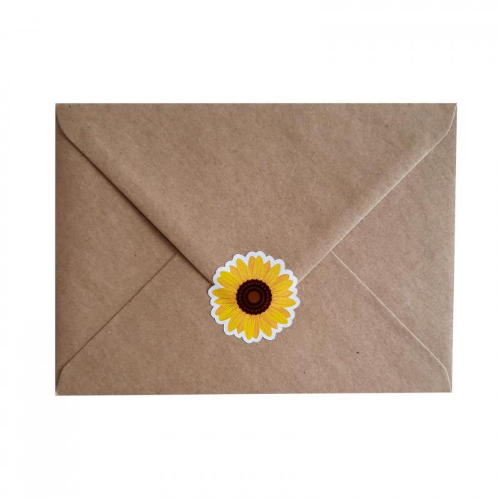 Stickere floarea-soarelui 3