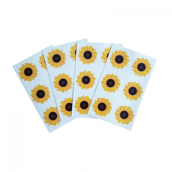Stickere floarea-soarelui 2