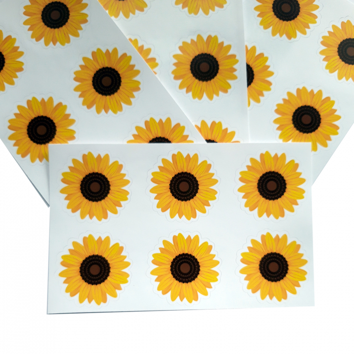 Stickere floarea-soarelui 0