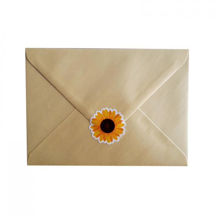 Stickere floarea-soarelui 5