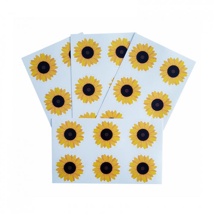 Stickere floarea-soarelui 1