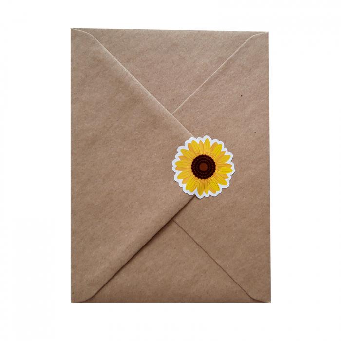 Stickere floarea-soarelui 4