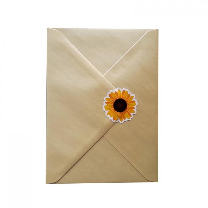 Stickere floarea-soarelui 6