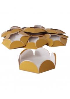 Chese aurii cupcake candy bar set 14 buc [0]