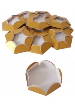 Chese aurii cupcake candy bar set 14 buc [4]
