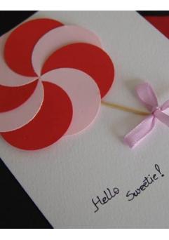 Felicitare Valentine / Dragobete CANDY [2]