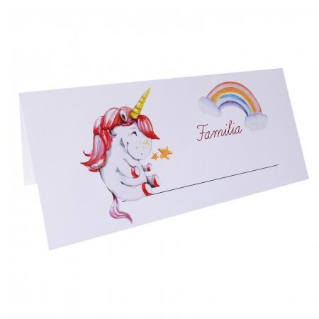 Place card plic de bani botez unicorn [2]