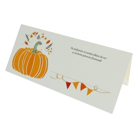 PLACE CARD - PLIC DE BANI - DOVLEAC0