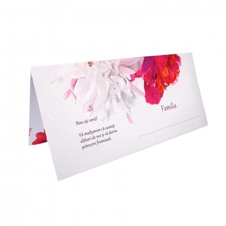 Place card nunta floral [1]