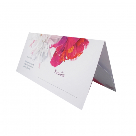 Place card nunta floral [0]