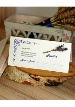 PLACE CARD NUNTA SET LAVANDA3