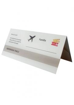PLACE CARD NUNTA CALATORIE0