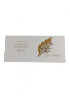 PLACE CARD NUNTA CU FRUNZULITE AURII1