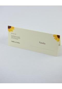 Place card nunta postcard floarea-soarelui [3]