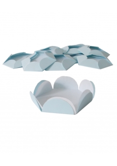 CHESE BLEU PASTEL CUPCAKE CANDY BAR SET 14 BUC