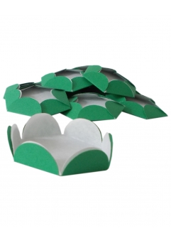 Chese verde Christmas cupcake candy bar set 14 buc