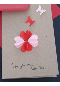 FELICITARE YOU GIVE ME... BUTTERFLIES
