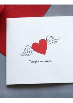 Felicitare Valentine / Dragobete HEART