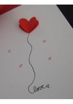 Felicitare LOVE