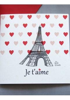 Felicitare Valentine / Dragobete PARIS