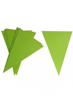 Ghirlanda stegulete verde crud