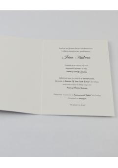 INVITATIE BOTEZ