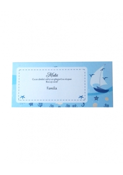 PLACE CARD BOTEZ NAUTIC