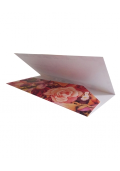 PLACE CARD NUNTA FLORAL DARK BACKGROUND