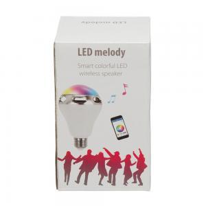 Bec Inteligent Multicolor cu difuzor si Smartphone Control prin Bluetooth