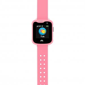 Ceas Inteligent pentru copii WONLEX KT05 Roz, cu GPS, rezistent la apa, localizare WiFI si monitorizare spion2
