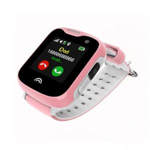 Ceas Inteligent pentru copii WONLEX KT05 Roz, cu GPS, rezistent la apa, localizare WiFI si monitorizare spion1