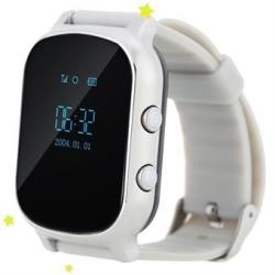 Ceas inteligent pentru copii cu telefon si localizare GPS GW700 Gri
