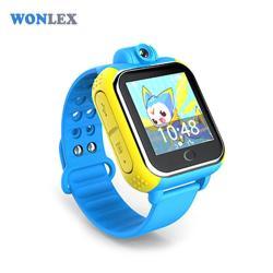 Ceas inteligent pentru copii cu telefon si localizare GPS GW1000 3G Albastru (Digi)