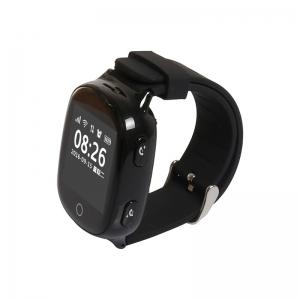 Ceas inteligent pentru seniori EW100S Negru cu telefon, localizare GPS&WiFi, monitorizare spion si monitorizare ritm cardiac