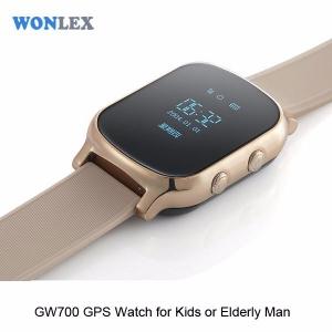 Ceas inteligent pentru copii cu telefon si localizare GPS GW700 - Gold1