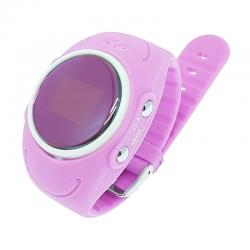 Ceas inteligent pentru copii GW300S Roz rezistent la apa, cu telefon, GPS & Wi-Fi