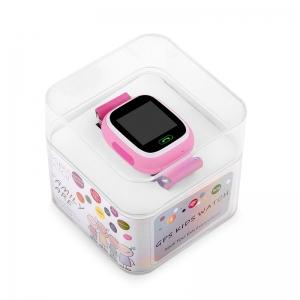 Ceas inteligent pentru copii GW100 Roz cu telefon, localizare GPS&WiFi si functie monitorizare spion