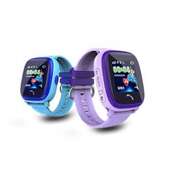 Ceas inteligent pentru copii WONLEX GW400S Albastru cu GPS, rezistent la apa, localizare WiFI si monitorizare spion4